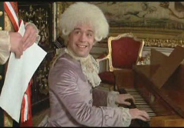 amadeus - mozart joue devant l'empereur