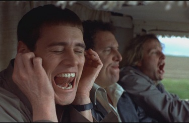 dumb et dumber - Jim Carrey en voiture