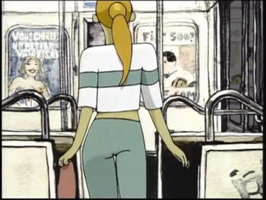 biotope film animation fille metro paris