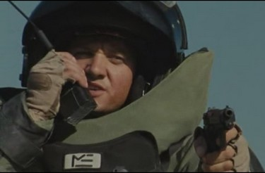 demineur irak combinaison - the hurt locker  Jeremy Renner