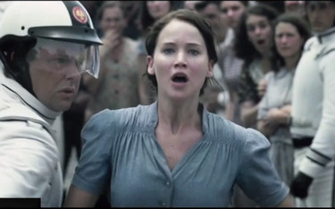 hunger games - Jennifer Lawrence - volontaire