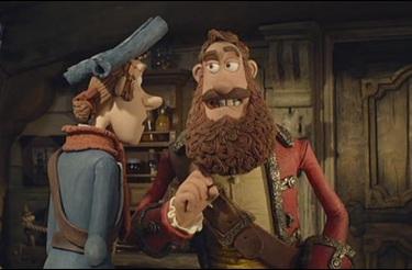 The Pirates Band of Misfits - Pirat captain et numero deux