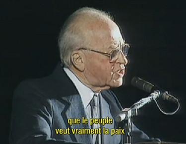 Yitzhak Rabin discours paix