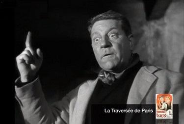 la traversée de Paris - Gabin