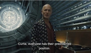 snowpiercer - ed harris chef du train