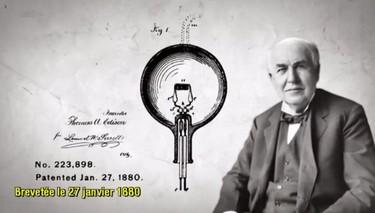 brevet thomas edison inventeur ampoule