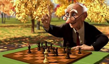 geri's game - le joueur d'echecs