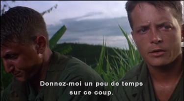 outrages - Michael J Fox soldat vietnam